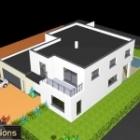 Maison cubique à Truchtersheim de 213 m2 habitable