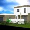 Maison cubique ArtsCAD créations de 111 m2 habitable