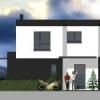 Maison cubique ArtsCAD créations de 136 m2 habitable à Gambsheim