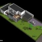 Maison cubique ArtsCAD créations