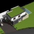 Maison cubique ArtsCAD créations de 206 m2